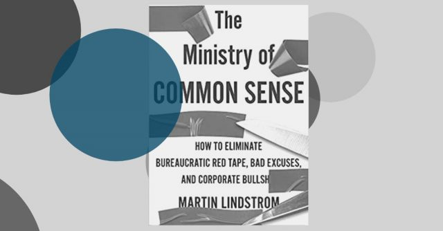 Review: The Ministry of Common Sense van Martin Lindstrom